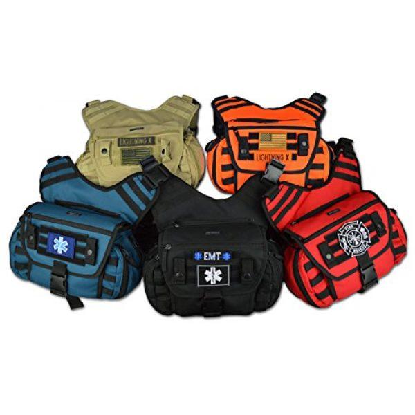 Lightning X Products Tactical Backpack 2 Lightning X Tactical Medic EMS/EMT Messenger Shooter Hiking Shoulder Sling Pack Gear Bag