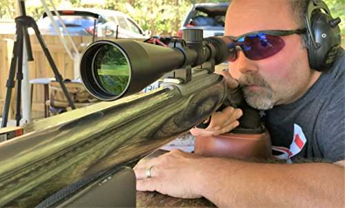 Tract Rifle Scope 5 Tract 22 FIRE 4-12x40 Rimfire Scope w/BDC Reticle - Rimfire Optics Designed to Perform at Long Range