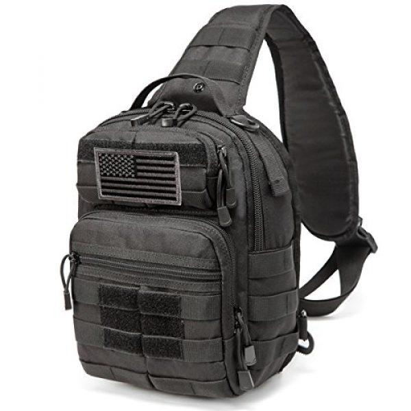 CRAZY ANTS Tactical Backpack 1 Crazy Ants Tactical Sling Bag Rover Molle Pack Shoulder Sling Backpack for Man