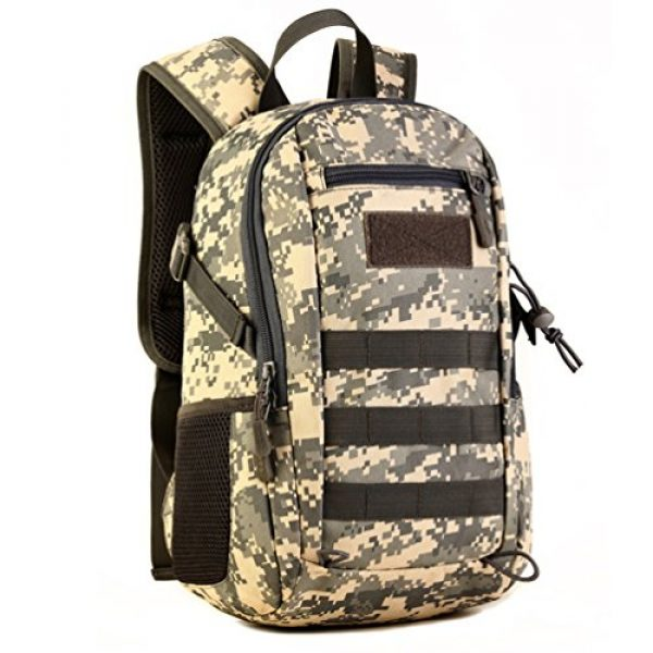 Protector Plus Tactical Backpack 1 12L Mini Daypack Military MOLLE Tactical Backpack Rucksack Gear Assault Pack