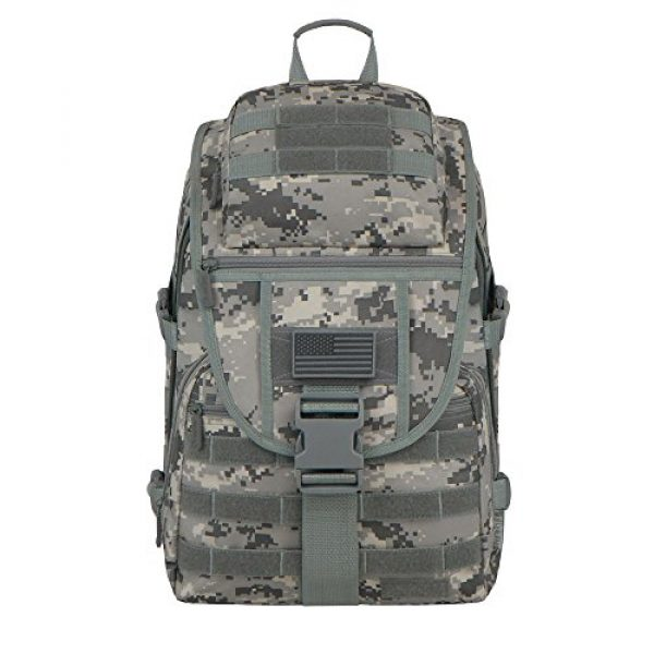 East West U.S.A Tactical Backpack 1 East West U.S.A RTC504 Tactical Molle Military Assault Rucksacks Backpack