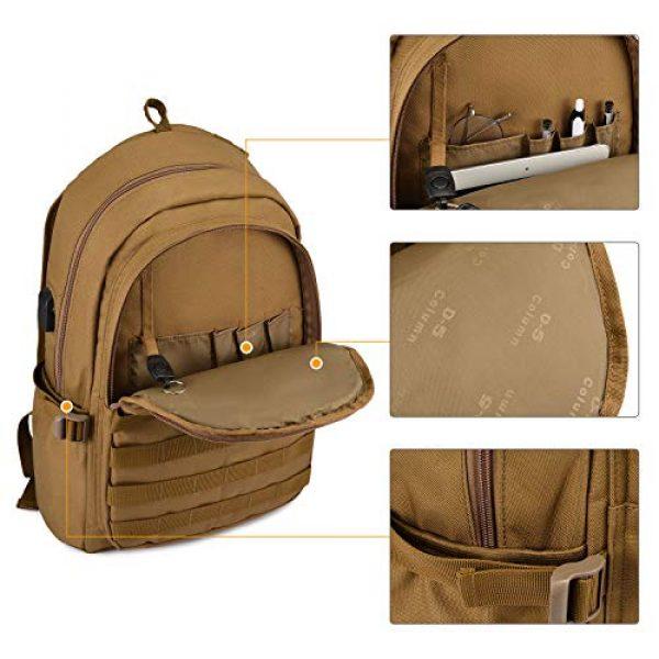 Huntvp Tactical Backpack 5 Huntvp PUBG Backpack Level 3 Tacticalk Laptop Military College Bag