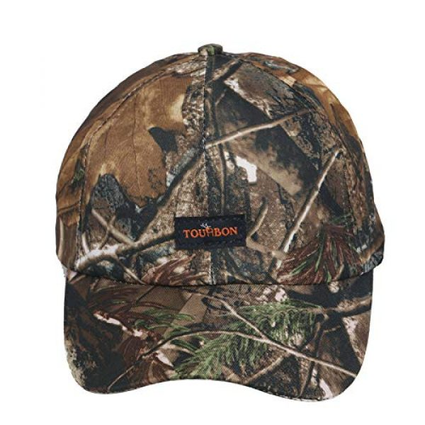 TOURBON Tactical Hat 2 TOURBON Camo Hat Hunting Nylon Cap Tactical Baseball Cap