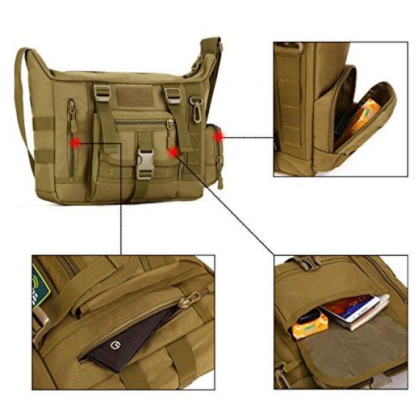 ArcEnCiel Tactical Backpack 3 ArcEnCiel Tactical Messenger Bag Men Military MOLLE Sling Shoulder Pack with Patch