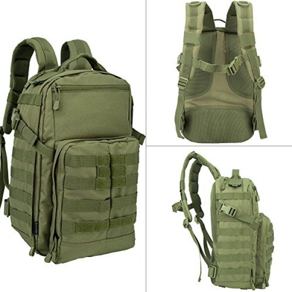 OLEADER Tactical Backpack 6 OLEADER Tactical Backpack Military Army Backpack for Hunting/Hiking/Traveling/Outdoor Middle size 30L
