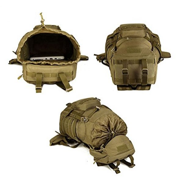 Huntvp Tactical Backpack 4 Huntvp 55L Tactical Military MOLLE Backpack Rucksack