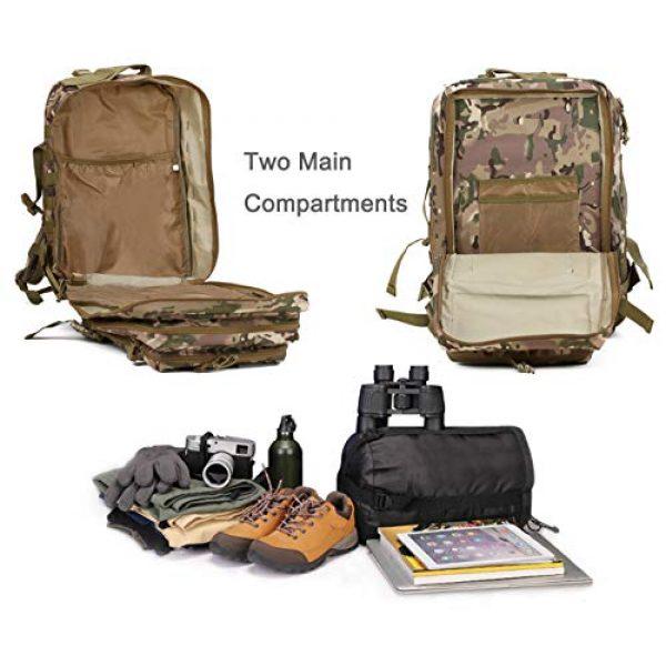 Luckin Packin Tactical Backpack 7 Luckin Packin Tactical Backpack,Military Backpack,Molle Bag Rucksack Pack,45 Liter Large