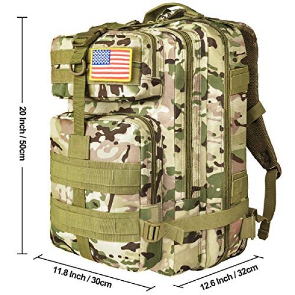 NOOLA Tactical Backpack 7 NOOLA Military Tactical Backpack Large Army 3 Day Assault Pack Molle Bag Rucksack