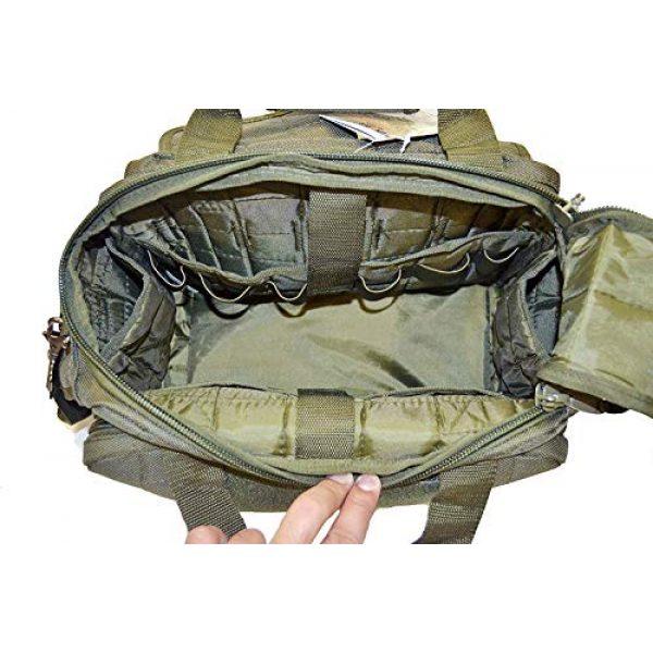 Explorer Tactical Backpack 4 Explorer Tactical 12 Pistol Padded Gun and Gear Bag OD Green