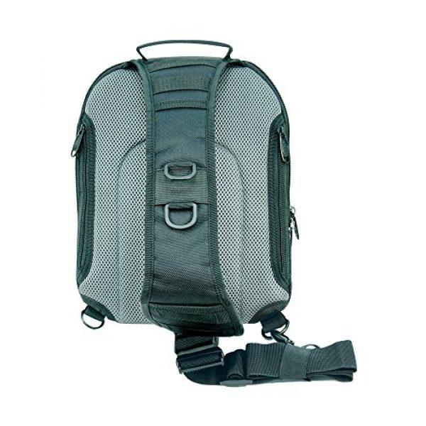 UTG Tactical Backpack 2 UTG Vital Chest Pack/Shoulder Sling Bag,Black/Gun Metal