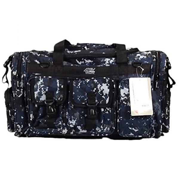 "Nexpak Tactical Backpack 3 Nexpak 26"" 3800cu.in Tactical Duffel Range Backpack TFBP126 DMBK (Navy Blue) Digital Camouflage"