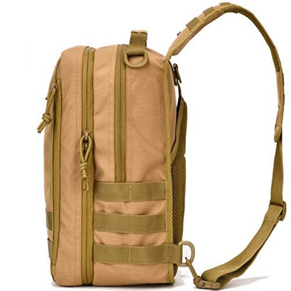BOW-TAC Tactical Backpack 2 Tactical Sling Bag Pack Small Military Sling Backpack Assault Range Bag