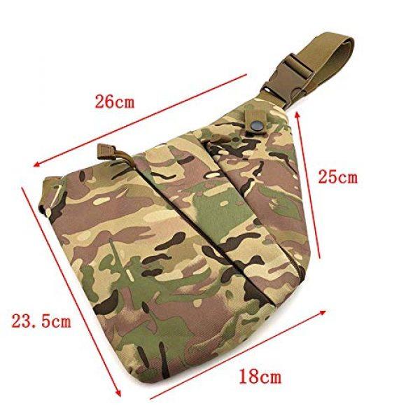 LIVIQILY Tactical Backpack 3 Men's Shoulder Bag Gun Case Single Bag Tactical Gun Bag Pistol Hand Soft Pistol Cases