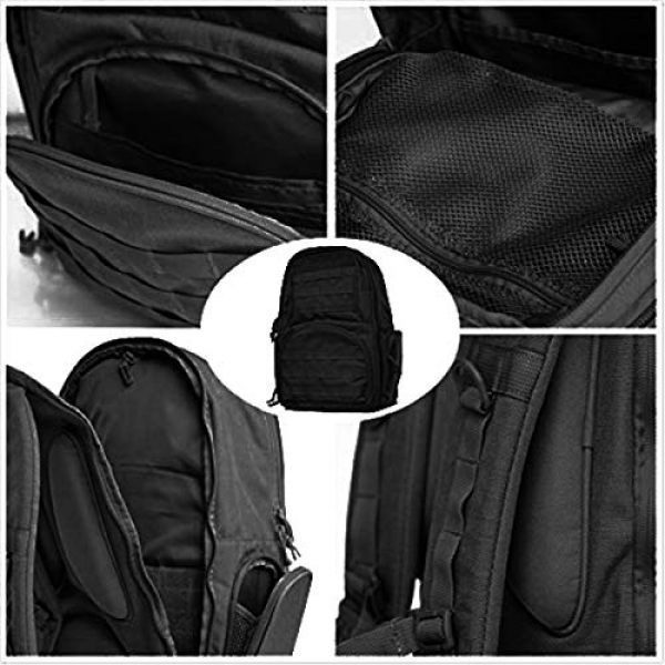FEAR GEAR Tactical Backpack 2 FEAR GEAR Large Military Tactical Assault Pack Outdoor Backpack Molle Bag
