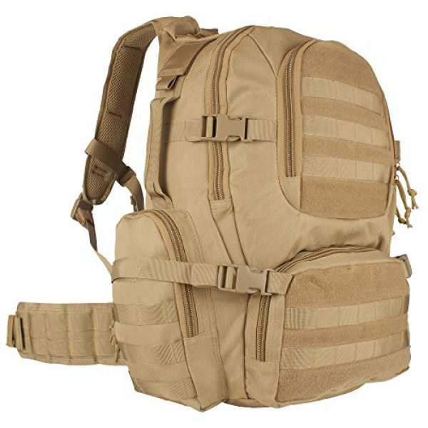 Fox Outdoor Tactical Backpack 1 Fox Outdoor Products Field Operator's Action Pack, Coyote