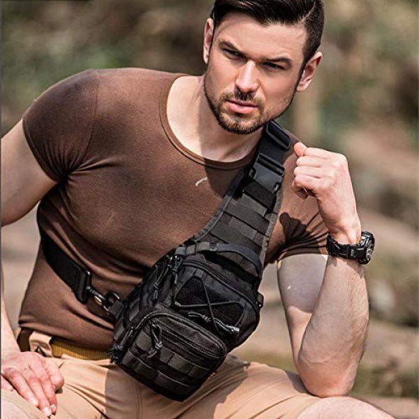 HAOMUK Tactical Backpack 7 HAOMUK Outdoor Tactical Backpack,Military Sport Bag Pack Shoulder Backpack