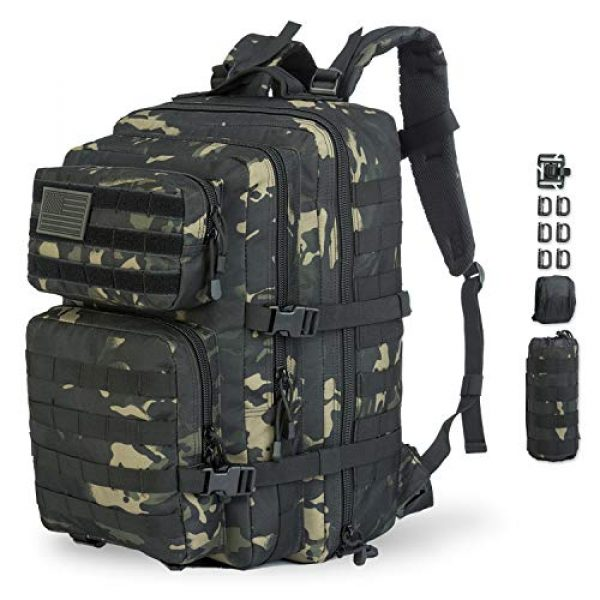 GZ XINXING Tactical Backpack 1 GZ XINXING 43L Large 3 day Molle Assault Pack Military Tactical Army Backpack Bug Out Bag Rucksack Daypack