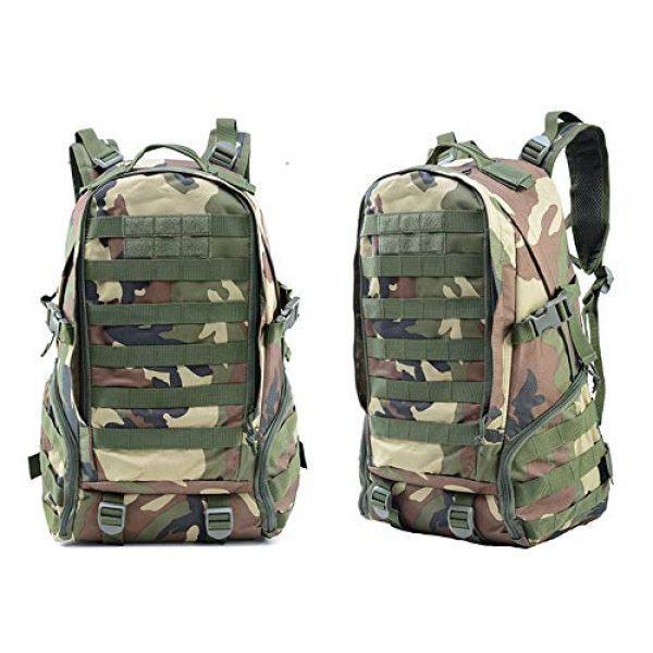 Piketo Tactical Backpack 2 Tactical Military Backpack Camouflage Outdoor Rucksack Practical Pockets Premium Quality Hiking Camping Hunting