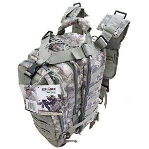 Explorer Tactical Backpack 1 Explorer Tactical 72 Hours Combat Rucksack 17 Inch Backpack-Digital Camo (ACU)