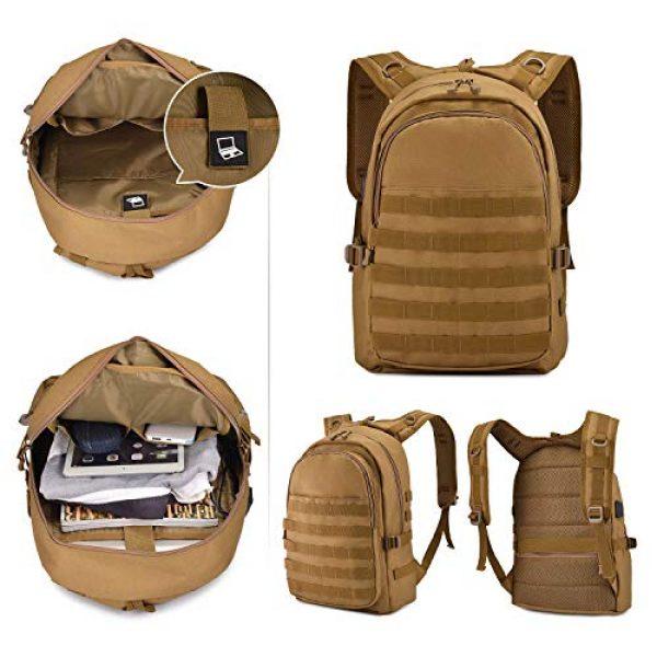 Huntvp Tactical Backpack 4 Huntvp PUBG Backpack Level 3 Tacticalk Laptop Military College Bag
