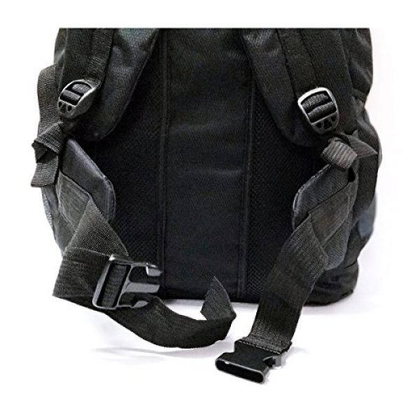 Leeloo Tactical Backpack 4 LeeLoo Extra Large 90 Liter Duffel Bag Travel Backpack for Travelling, Backpacking, Camping, Hiking.
