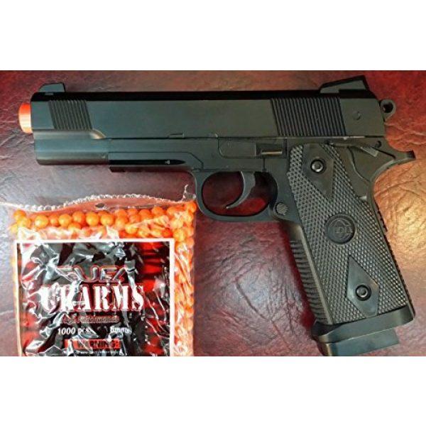 SPRING AIRSOFT GUN Airsoft Pistol 2 heavy duty metal spring airsoft gun pistol with free 1000 bb's bullets ammo(Airsoft Gun)