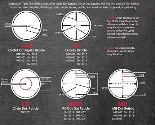 Sightmark Rifle Scope 5 Sightmark Triple Duty 8.5-25x50 DX Riflescope