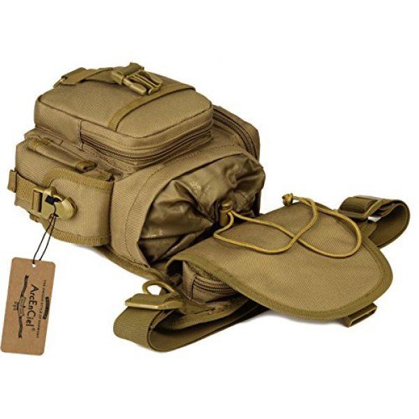 ArcEnCiel Tactical Backpack 3 ArcEnCiel Leg Bag Tactical Military Drop Waist Thigh Hip Fanny Pack Tool Gear Pouch