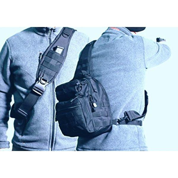 CRAZY ANTS Tactical Backpack 4 Crazy Ants Tactical Sling Bag Rover Molle Pack Shoulder Sling Backpack for Man