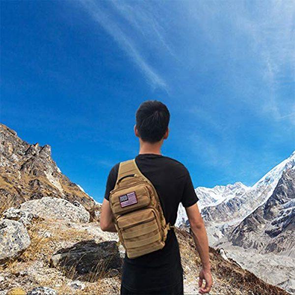 Neasyth Tactical Backpack 6 Neasyth Tactical Sling Bag Backpack Shoulder Chest Bag Outdoor Travel Hiking for Men