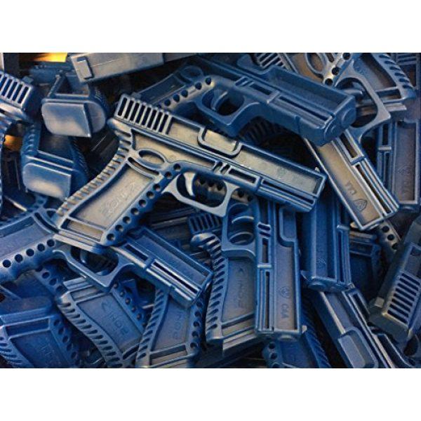 GARRET MACHINE Rubber Training Pistol Blue Gun 4 GARRET MACHINE Plastic Inert Training Pistol Compatible with Glock (Black, 17)
