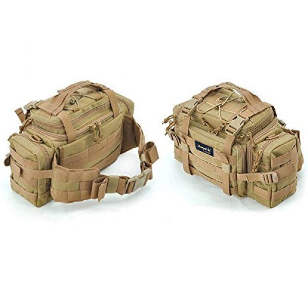 SHANGRI-LA Tactical Backpack 3 SHANGRI-LA Tactical Range Bag Outdoor Sling Backpack Hiking Fanny Waist Pack
