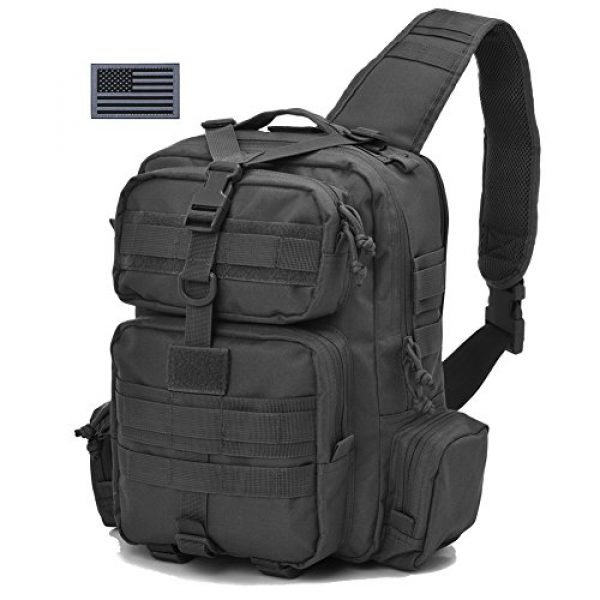 REEBOW GEAR Tactical Backpack 2 REEBOW Tactical Sling Bag Pack Military Sling Backpack Assault Range Bag