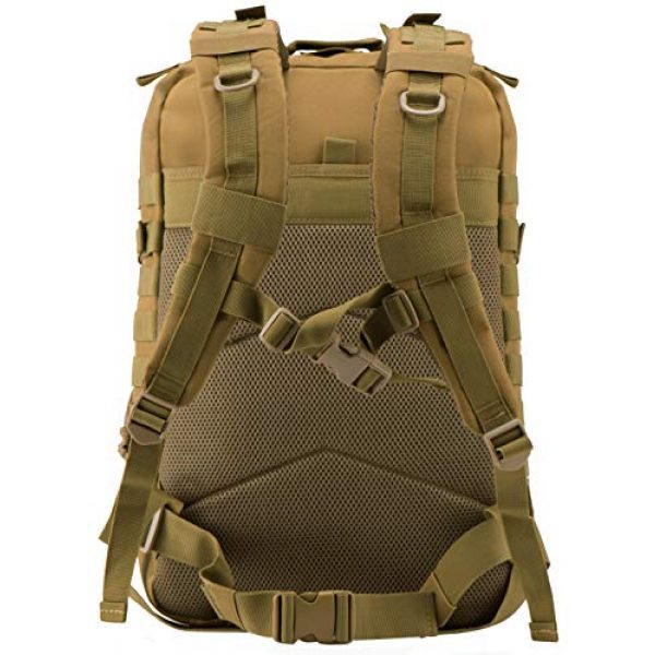 Luckin Packin Tactical Backpack 4 Luckin Packin Military Tactical Backpack, Molle Bag, Rucksack Pack, 45 Liter Large