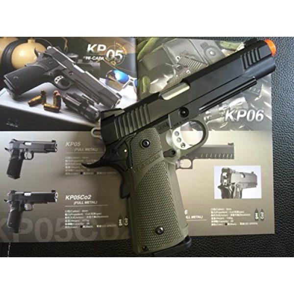 KJW Airsoft Pistol 1 gbb-615g - KJW full metal semi auto gas blowback pistol with free target trip tent(Airsoft Gun)