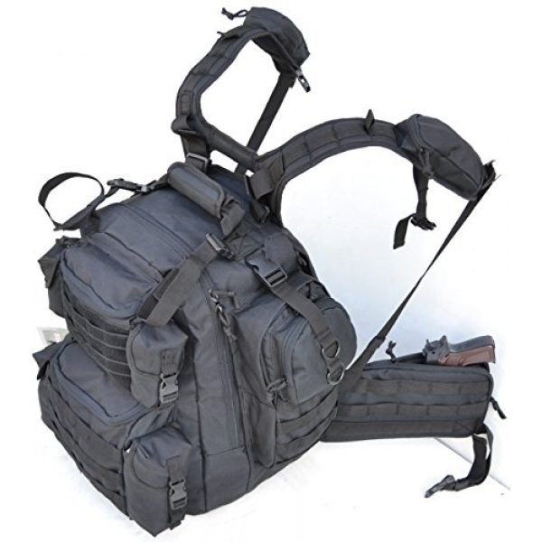 Explorer Tactical Backpack 2 Explorer Tactical Gun Concealment Backpack With Molle Webbing Hydration Ready