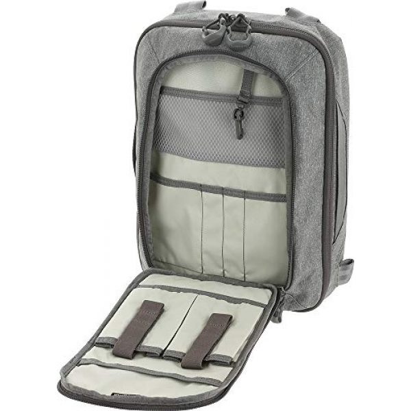 Maxpedition Tactical Backpack 5 Maxpedition Entity Tech Sling Bag (Large) 10L, Ash, One Size (NTTSLTLAS)