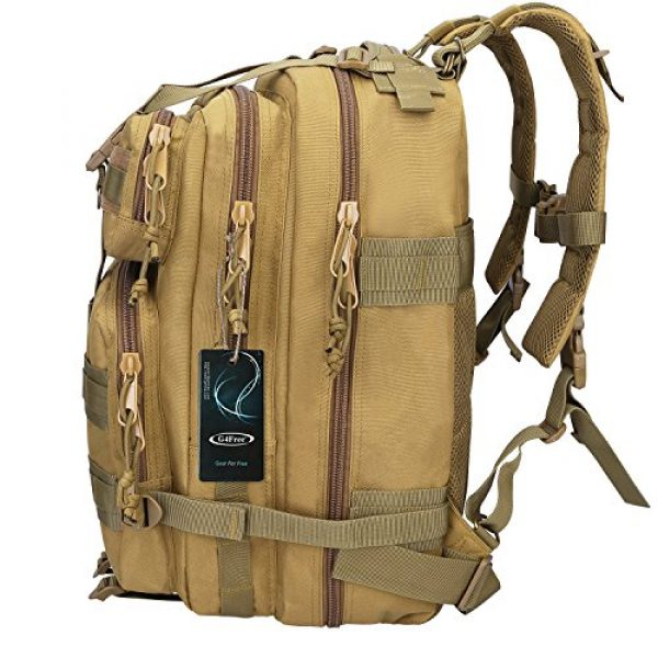 G4Free Tactical Backpack 2 G4Free Tactical Shoulder Backpack Military Survival Pack Army Molle Bug Out Bag Surplus Backpack 35L