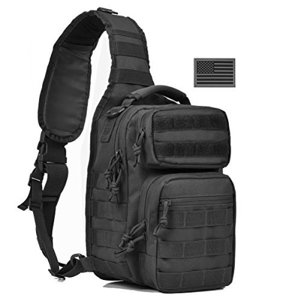 REEBOW GEAR Tactical Backpack 1 REEBOW GEAR Tactical Sling Bag Pack Military Rover Shoulder Sling Backpack Small