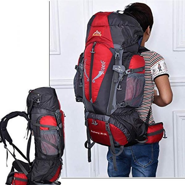 outdoor plus Tactical Backpack 7 outdoor plus Backpacking Backpack, 60L/65L/70L/85L Waterproof MOLLE Rucksack Hiking Hunting
