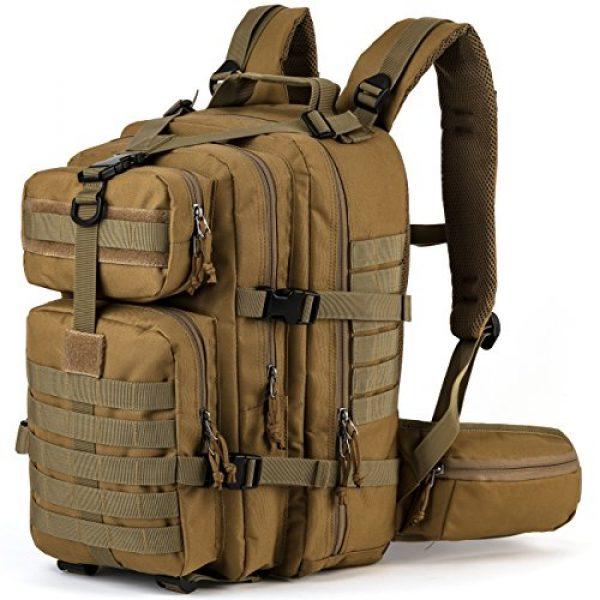 RUPUMPACK Tactical Backpack 1 RUPUMPACK Military Tactical Backpack Army MOLLE Hydration Bag 3 Day Rucksack Outdoor Hiking School Daypack 33L