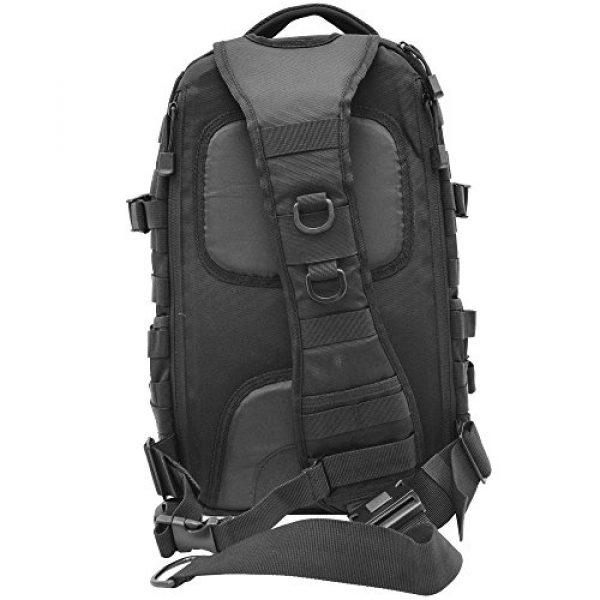 UTG Tactical Backpack 4 UTG Ambi 24/7 Cross Body Shoulder Vital Sling Pack, Black