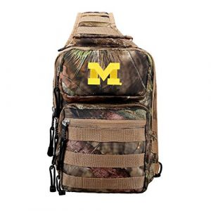 """The Northwest Company Tactical Backpack 1 Officially Licensed NCAA """"Flyover"""" Tactical Slingpack, 12"""", Mossy Oak"""