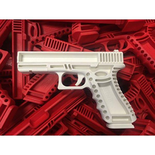 GARRET MACHINE Rubber Training Pistol Blue Gun 7 GARRET MACHINE Plastic Inert Training Pistol Compatible with Glock (Black, 17)