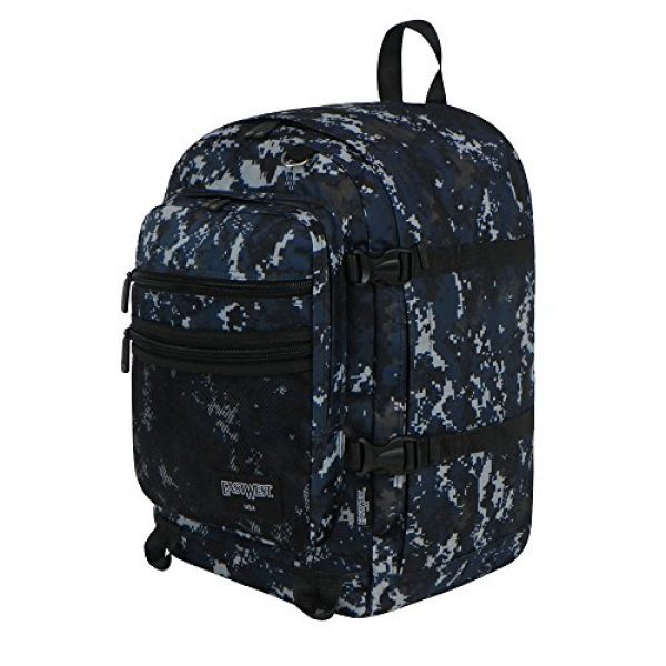 East West U.S.A Tactical Backpack 2 East West U.S.A BC109 Digital Camouflage Military Classic Backpack