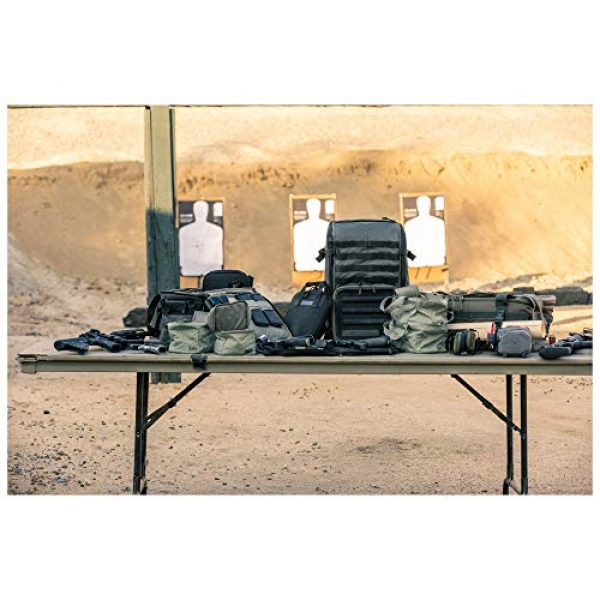 5.11 Tactical Backpack 6 5.11 Tactical Range Master Firearm & Shooting Gear Backpack 4-Piece Set, 33L, Style 56496
