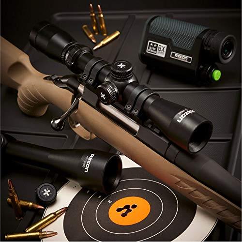 AXEON Rifle Scope 6 AXEON Optics Hunting Series Plex Reticle Rifle Scope