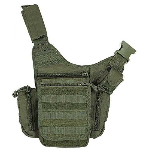 VooDoo Tactical Tactical Backpack 1 VooDoo Tactical 15-9355004000 Ergo Pack, OD