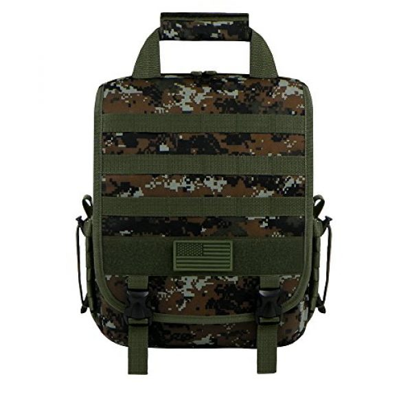 East West U.S.A Tactical Backpack 1 East West U.S.A RTC510 Tactical Molle Camouflage Laptop Sling Bag