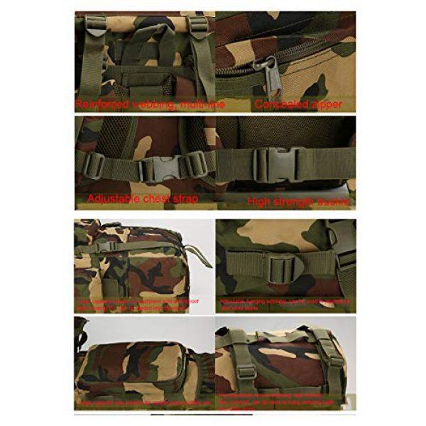 Suoki Tactical Backpack 4 Molle Backpack 65L Waterproof Internal-Frame Hiking Camping Rucksacks With Rain Cover